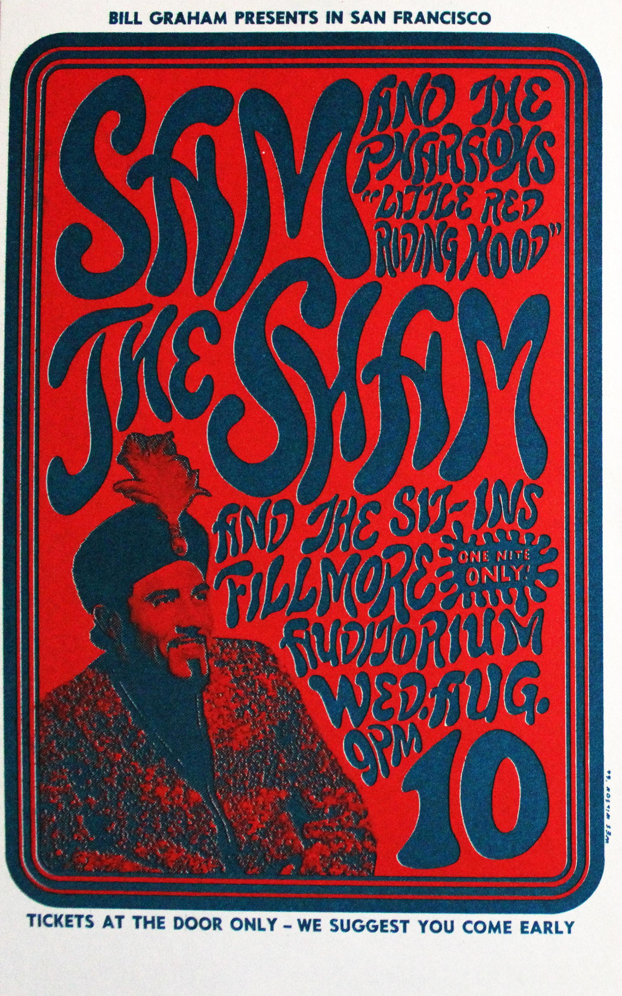 Sam the Sham & the Pharoahs Postcard