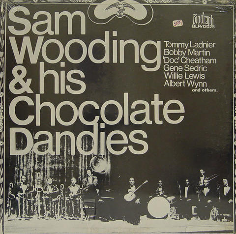 "Sam Wooding Vinyl 12"" (New)"