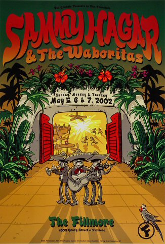 Sammy Hagar & the Waboritas Poster