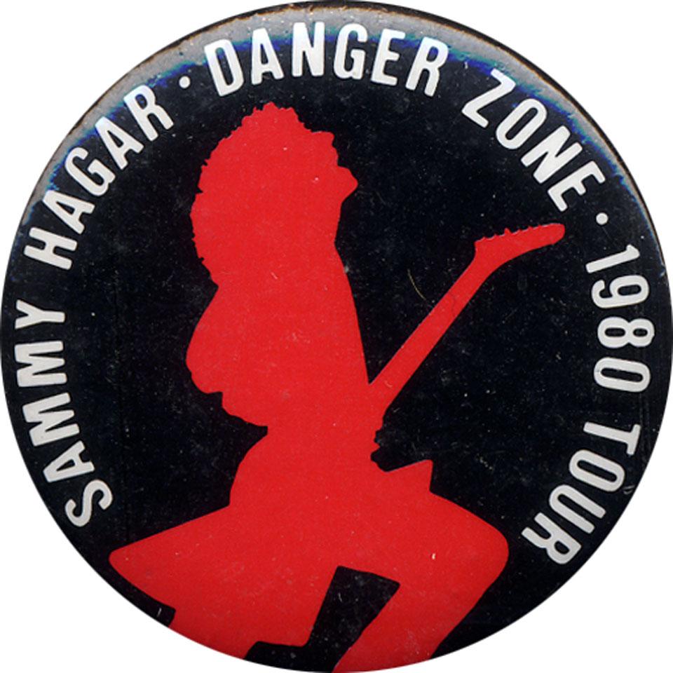 Sammy Hagar Pin