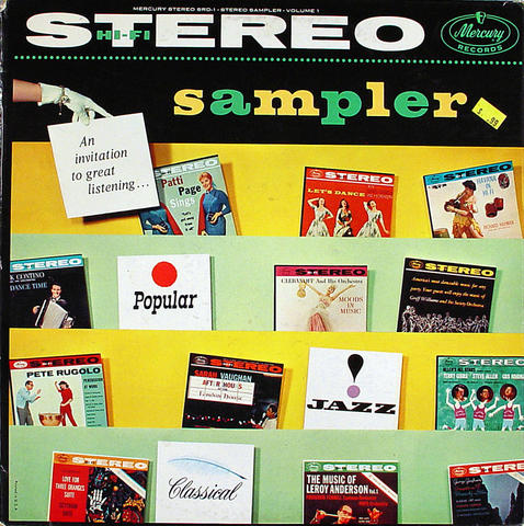 "Sampler Volume One Vinyl 12"" (Used)"