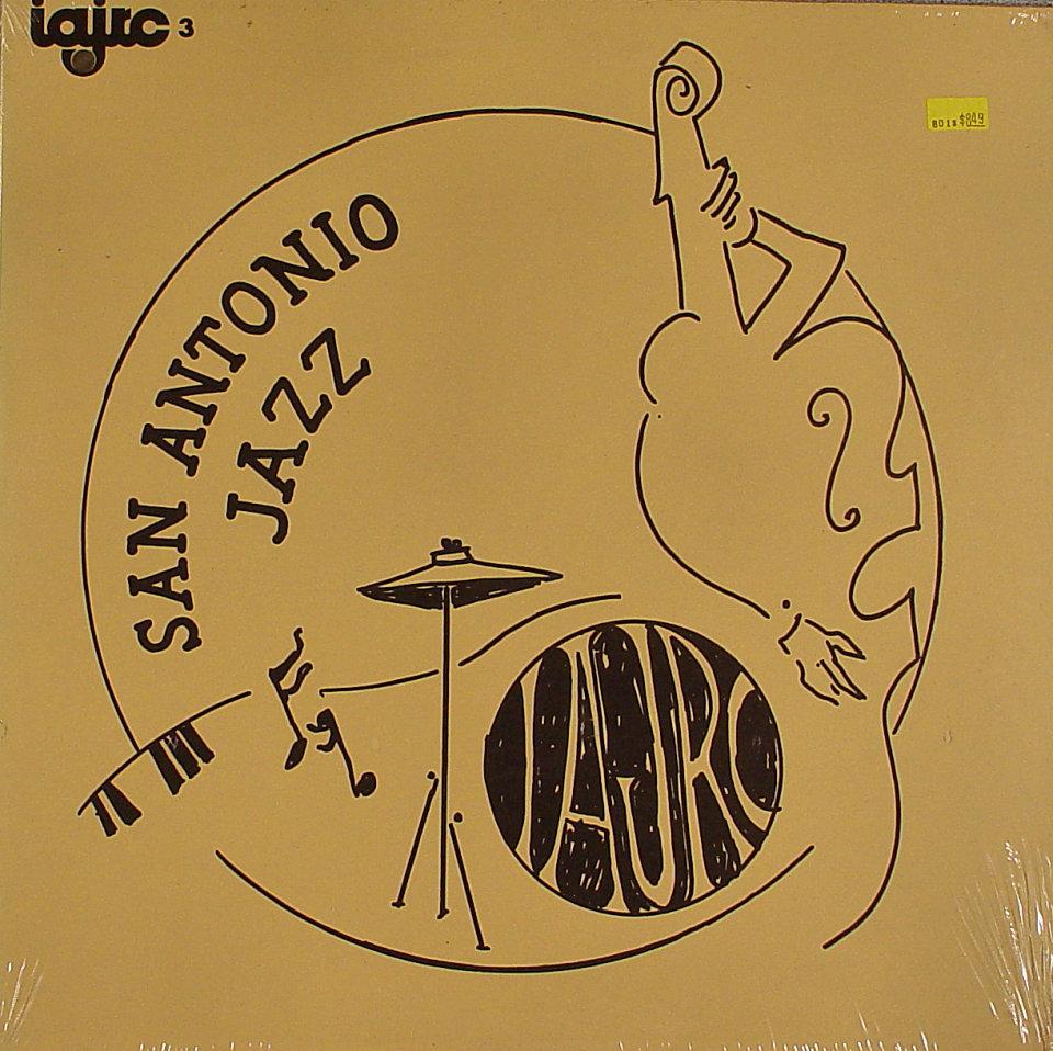 """San Antonio Jazz Vinyl 12"""" (New)"""