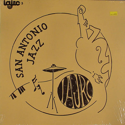 "San Antonio Jazz Vinyl 12"" (New)"