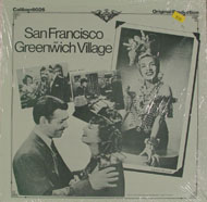 "San Francisco / Greenwich Village Vinyl 12"" (New)"