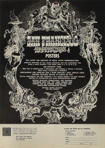 San Francisco Happenings Poster Poster