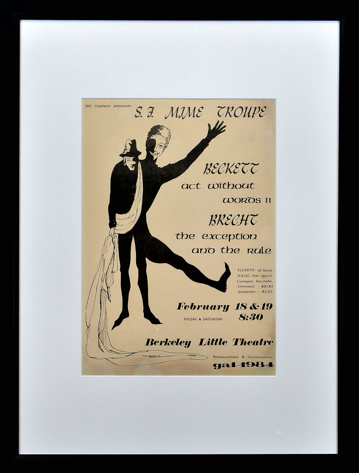 San Francisco Mime Troupe Framed Poster