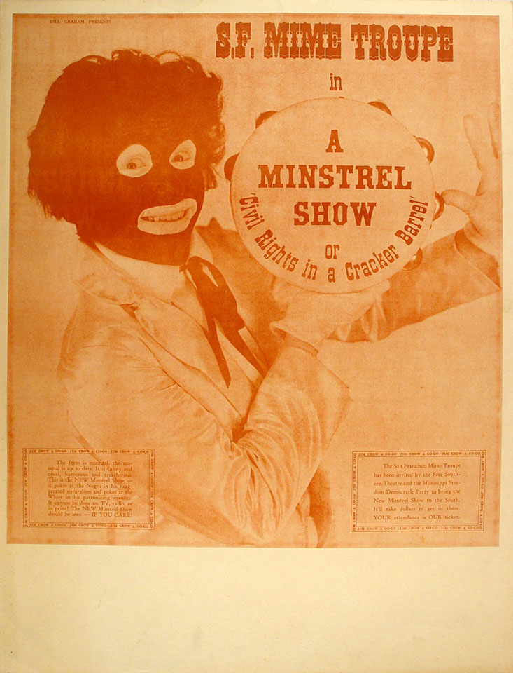 San Francisco Mime Troupe Poster