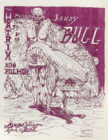 Sandy Bull Handbill