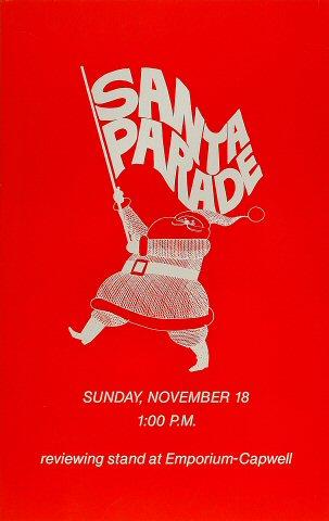 Santa Parade Poster