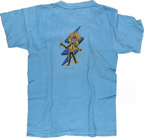 Santana Men's Vintage T-Shirt reverse side