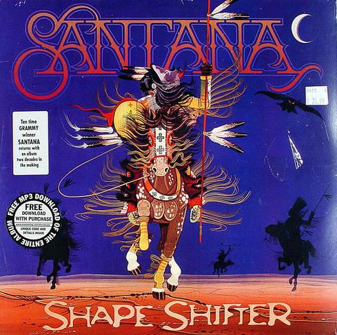 """Santana Vinyl 12"""" (New)"""