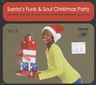 Santa's Funk & Soul Christmas Party, Volume 3 CD