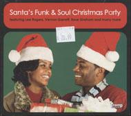 Santa's Funk & Soul Christmas Party CD