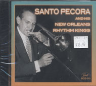 Santo Pecora And His New Orleans Rhythm Kings CD
