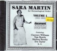 Sara Martin CD