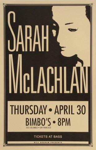 Sarah McLachlan Poster