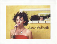 Sarah Pedinotti Promo Print