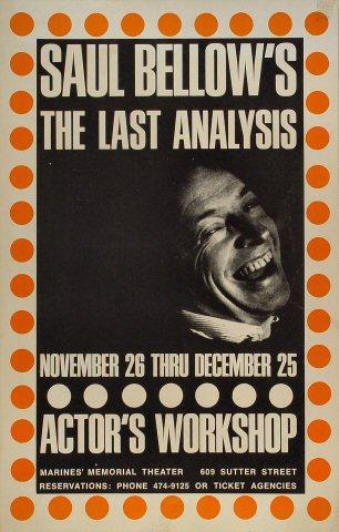 Saul Bellow Poster