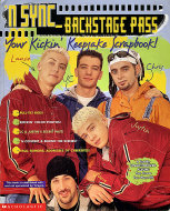Scholastic: 'N Sync - Back Stage Pass Magazine