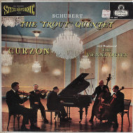 """Schubert Piano Quintet in A Major """"The Trout"""" Vinyl 12"""" (Used)"""
