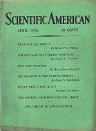 Scientific American Magazine April 1932 Magazine