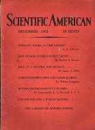 Scientific American Magazine December 1931 Magazine