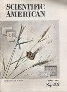Scientific American Magazine July 1953 Magazine