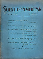 Scientific American Magazine June 1932 Magazine