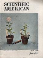 Scientific American Magazine June 1953 Magazine