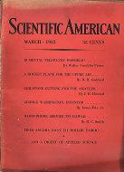 Scientific American Magazine March 1932 Magazine