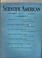 Scientific American Magazine November 1931 Magazine
