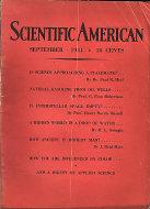 Scientific American Magazine September 1931 Magazine