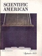 Scientific American Vol. 201 No. 3 Magazine