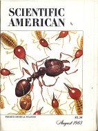 Scientific American Vol. 249 No. 2 Magazine