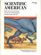 Scientific American Vol. 264 No. 4 Magazine