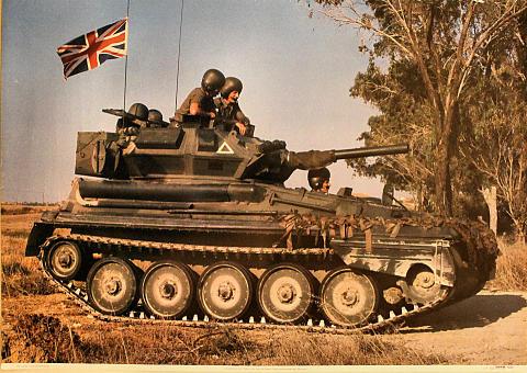 Scorpion Light Tank Poster