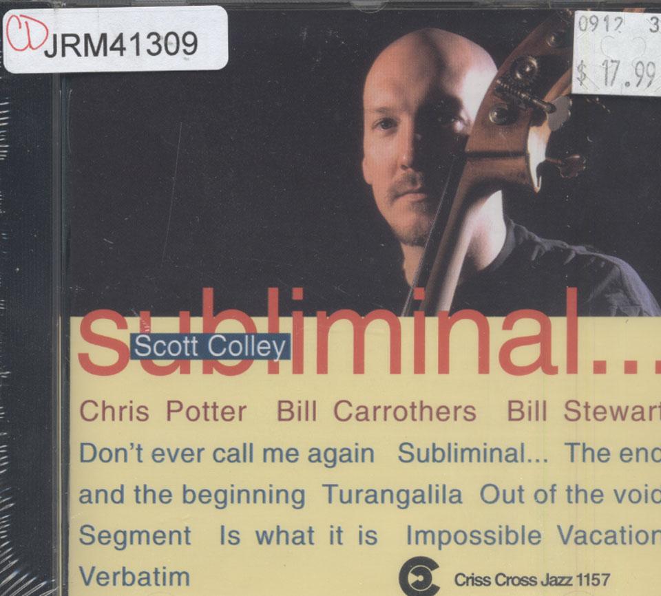Scott Colley CD