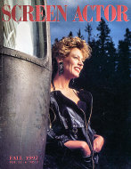 Screen Actor Magazine September 1992 Magazine