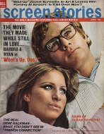 Screen Stories Magazine April 1972 Magazine