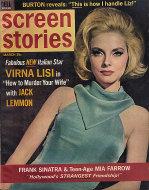 Screen Stories Magazine March 1965 Magazine