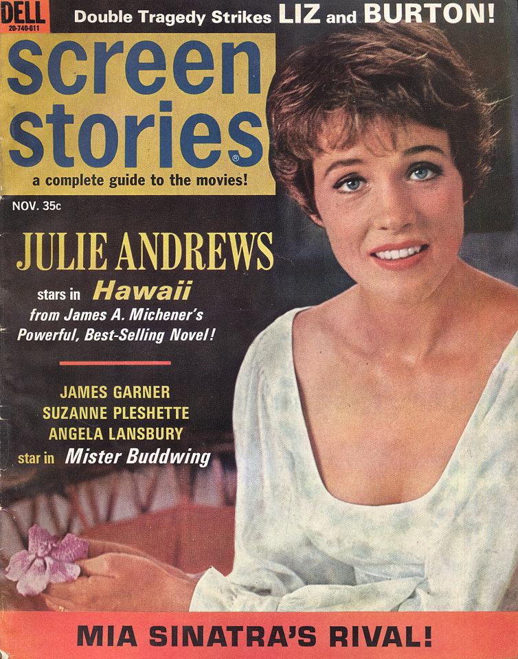 Screen Stories Magazine November 1966