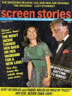 Screen Stories Magazine September 1972 Magazine