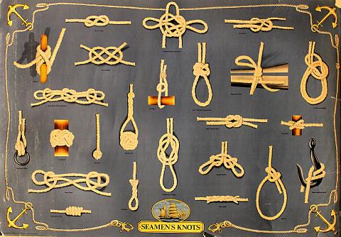 Seaman's Knots Poster
