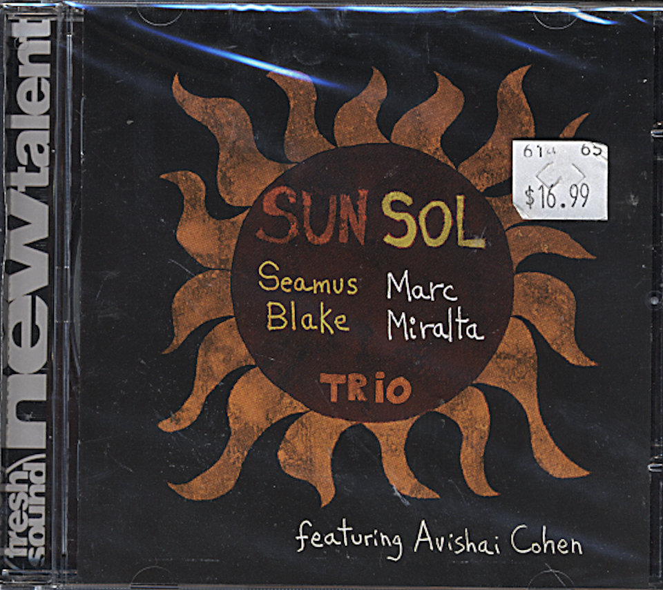 Seamus Blake - Marc Miralta Trio CD
