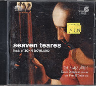 Seaven Teares: Music of John Dowland- The King's Noyse CD