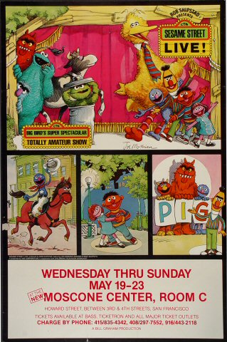 Sesame Street Live Poster