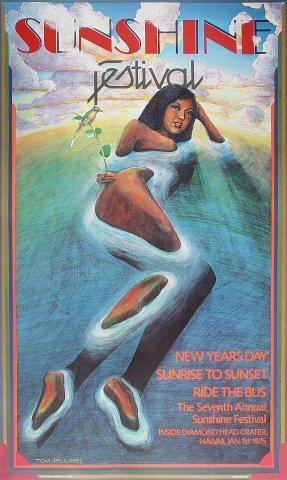 Seventh Annual Sunshine Festival Poster