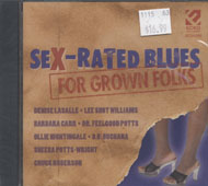 Sex - Rated Blues CD