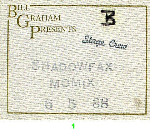 Shadowfax Backstage Pass