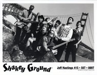 Shakey Ground Promo Print